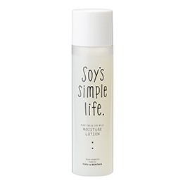 Soy's simple life 生豆乳ローション 〈しっとり〉